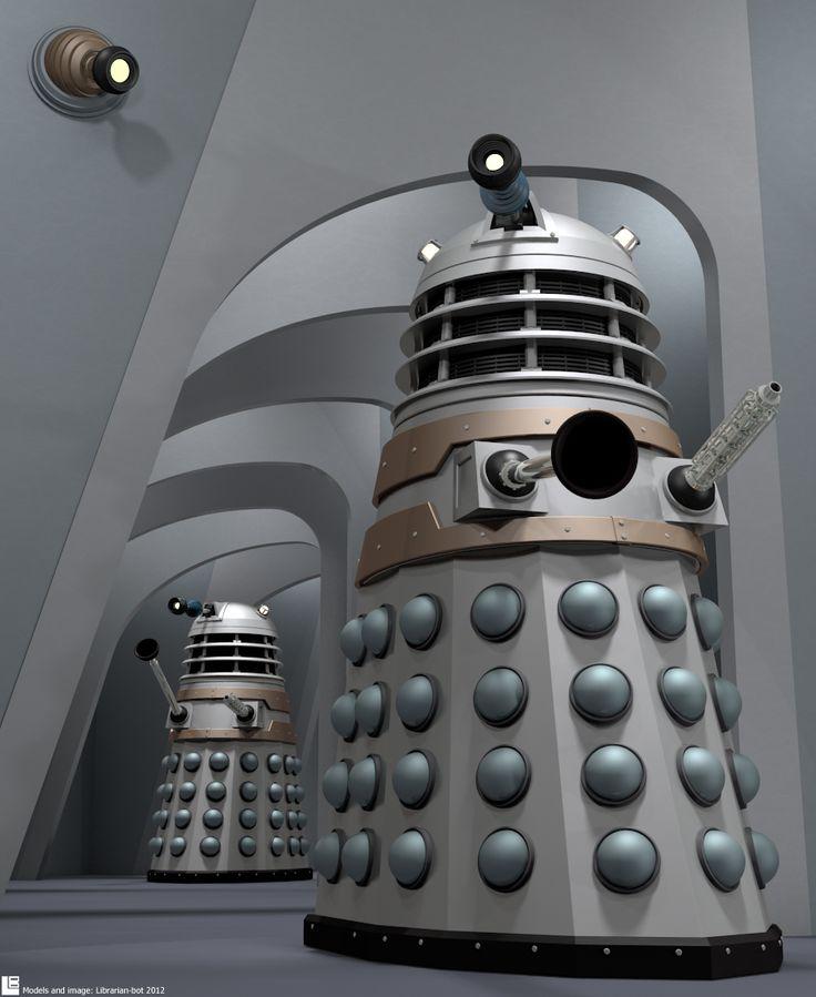 Dalek Evolution 4) Dead Planet by Librarian-bot.deviantart.com on @deviantART