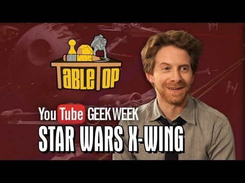 ▶ GEEK WEEK - Star Wars X-Wing: Seth Green, Clare Grant, and Mike Lamond Join Wil on TableTop SE2E09