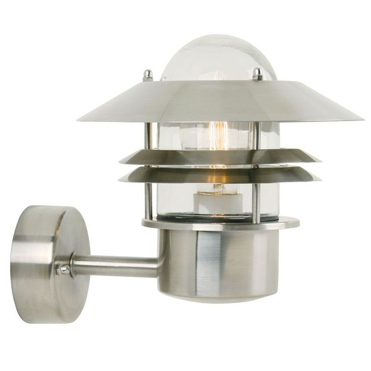 Buy nordlux blokhus up wall light with sensor galvanized steel from our security lights range at tesco direct