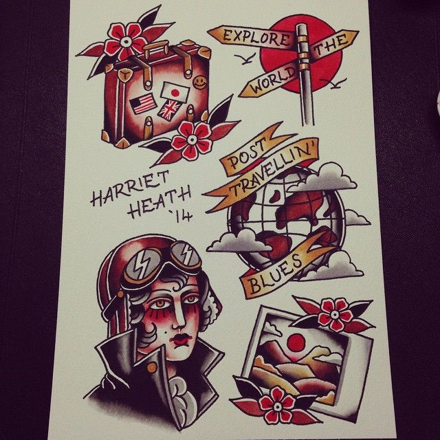 14 best Tattoo traditional images on Pinterest | American ...