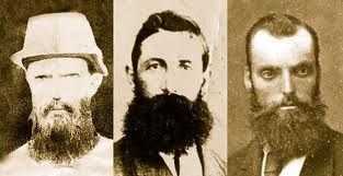 The 3 police killed at Stringybark Creek. Constables Lonigan, Scanlon and Kennedy