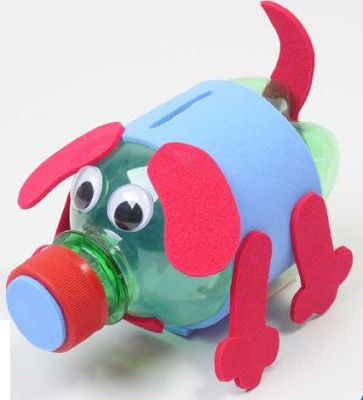 Reciclaje y desecho: 10 ideas para hacer juguetes reciclados