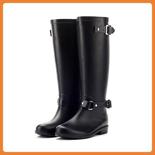 Meijunter Fashion Damen Wasserdicht Rainboots Regen Stiefel High Tube Gummi Regen Schuhe Shoes Anti-rutschend Wasser Schuhe - Stiefel für frauen (*Partner-Link)