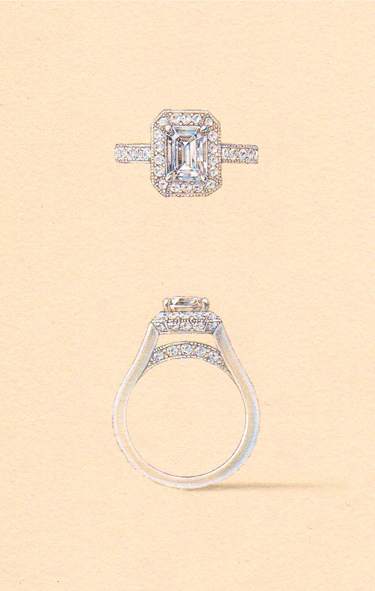The Salm Setting. Naveya & Sloane engagement ring, made to order in Auckland, New Zealand.