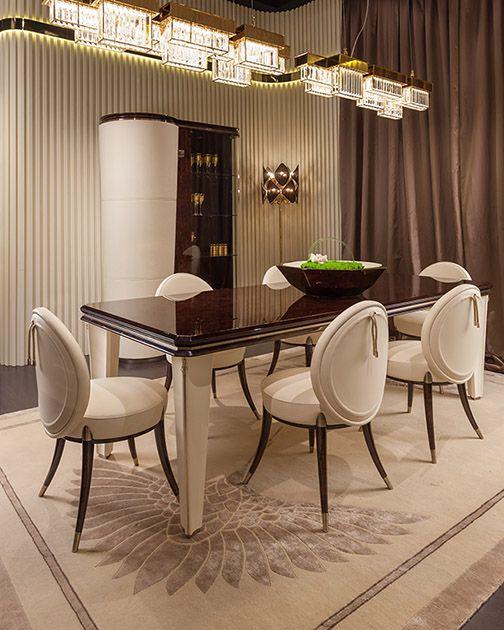 Luxury Dining Room Furniture: Turri - The Art Of Living - Italian Luxury Furniture