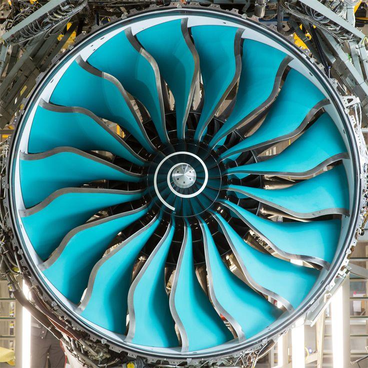 Rolls-Royce aero engines - Composite Blades on the Trent 1000. Rolls-Royce UK generates annual sales of around £5.7 billion.