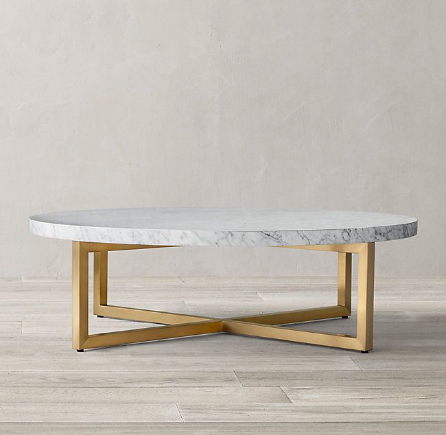 Torano Marble Round Coffee Table