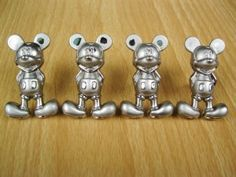 Mickey Mouse knobs   Mickey Mouse Metal Kitchen Cabinet Door Knobs Drawer Pulls Handles ...