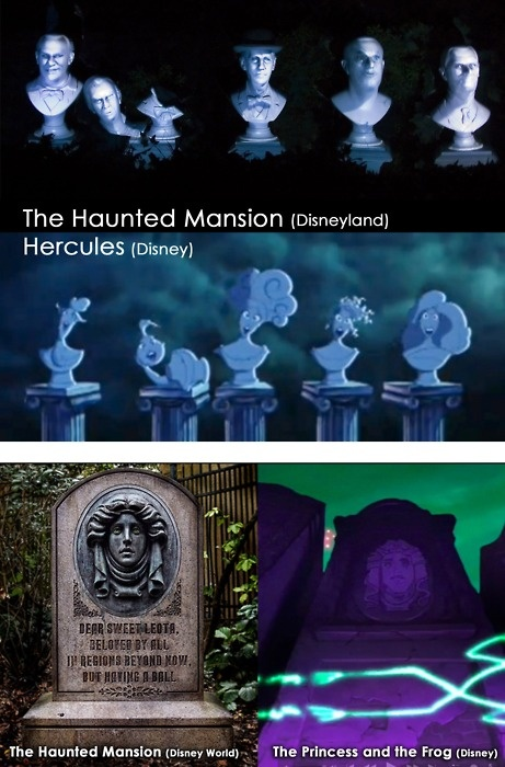 Haunted Mansion in other movies...