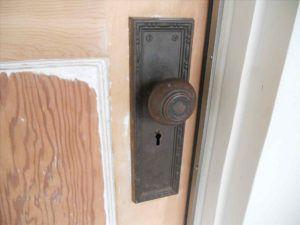 Old Fashioned Internal Door Locks