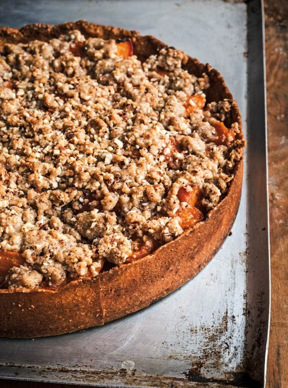 Apricot Tart Recipe   David Lebovitz (This apricot tart is suspiciously similar to a crumble yet with the indefinable finesse of something, well, French.)