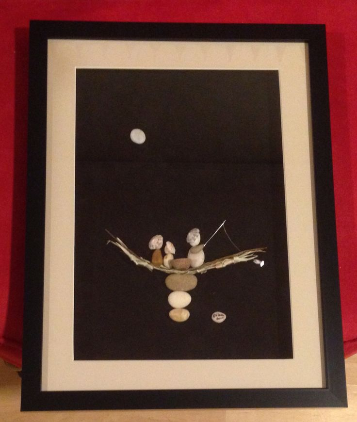 375 best pebble art in frames images on pinterest pebble art diy pebble art glen solutioingenieria Image collections