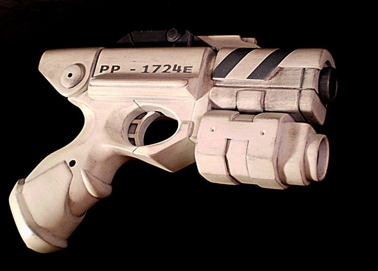 River Song's Alpha Meson blaster