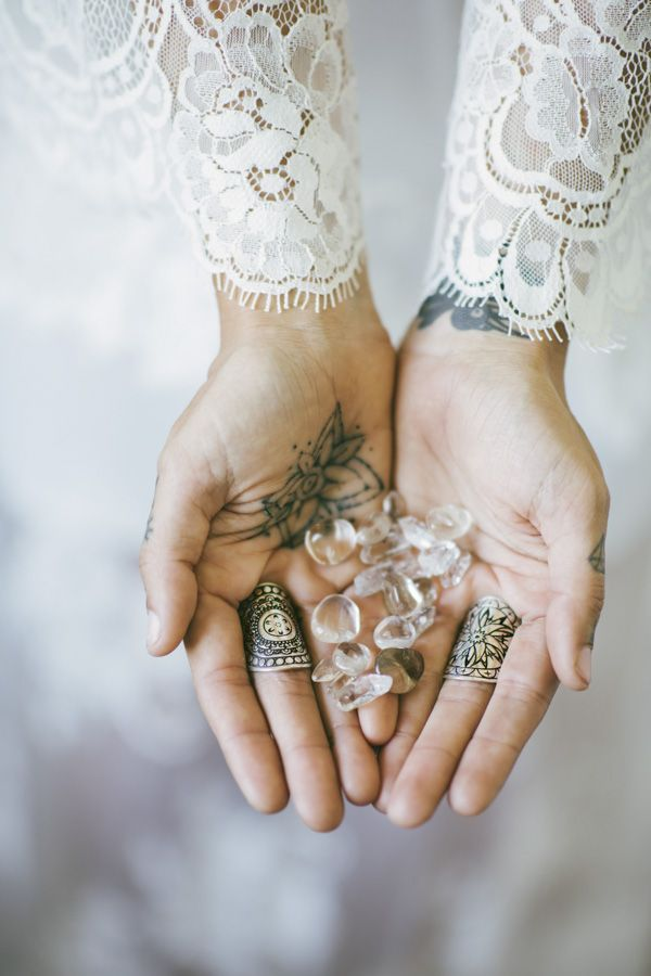 The Fifth Element Life 'Elemental Masters Collection' (shop via the link) #TFEL #style #ootd #boho #gypsy #witch #coven #bohemian #silver #ring #crystals #bridal #tattoos #handtattoos #mandala #mandalarings #jewellery #jewelry