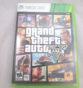 Grand Theft Auto V GTA 5 Xbox 360 UNUSED Atomic Blimp Code COMPLETE MIB - Like New Used Condition - COMPLETE both game discs, instruction manual, MAP, and UNUSED ATOMIC BLIMP CODE, along with original case with art. - Map has tiny fold and had been opened once. http://www.ebay.com/itm/Grand-Theft-Auto-V-GTA-5-Xbox-360-UNUSED-Atomic-Blimp-Code-COMPLETE-MIB-/131091164786