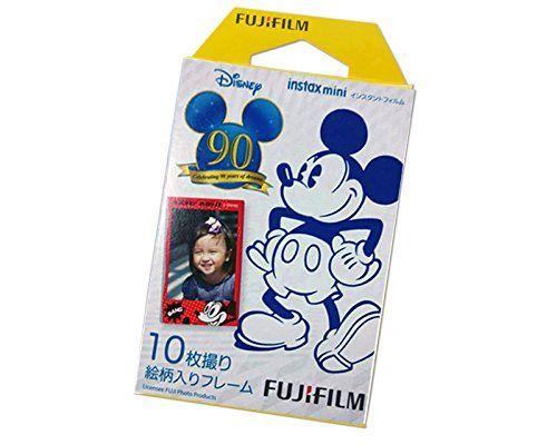Fujifilm Instax Mini Film for Instant Mini 7S Instax Mini 8 Instant Mini 25 Instax Mini 50S Instant Mini 90 Film Camera - Mickey Mouse 90th Anniversary, 10 Sheets Fujifilm http://www.amazon.com/dp/B00NBQ4SFI/ref=cm_sw_r_pi_dp_dCxRub01NAXCA