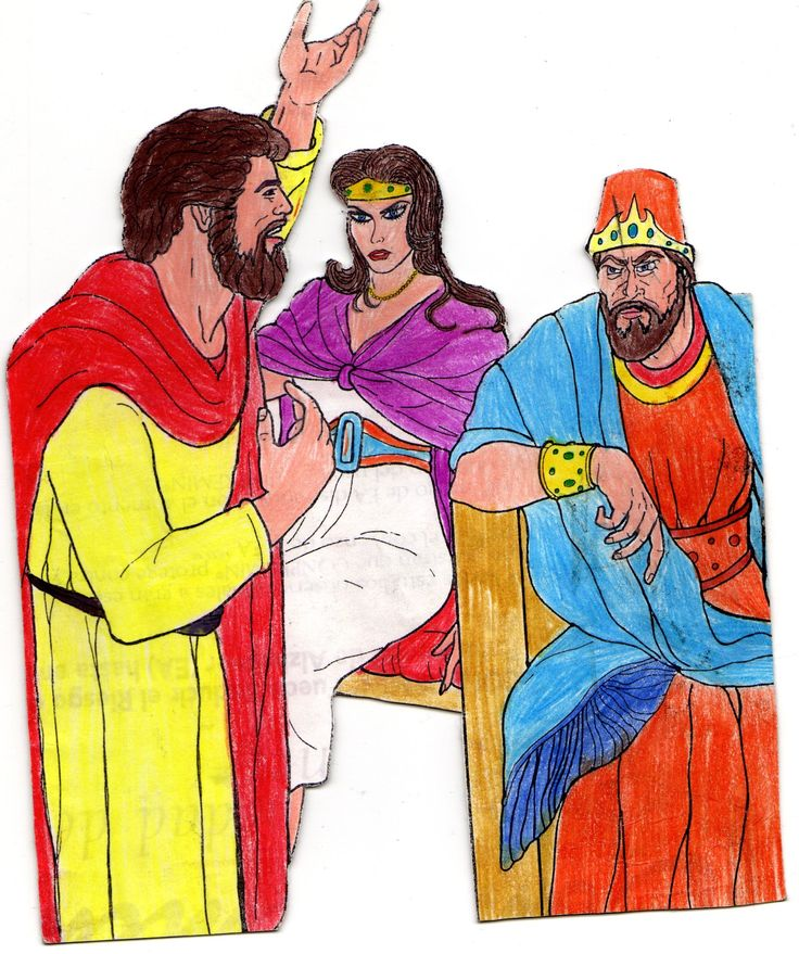 Elías anuncia el mensaje de Dios