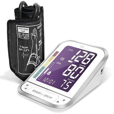 US-Deals Cars Upper Arm Blood Pressure Monitor with Easy-to-Read Backlit LCD Nylon case White: $19.99 End Date: Saturday…%#USDeals%
