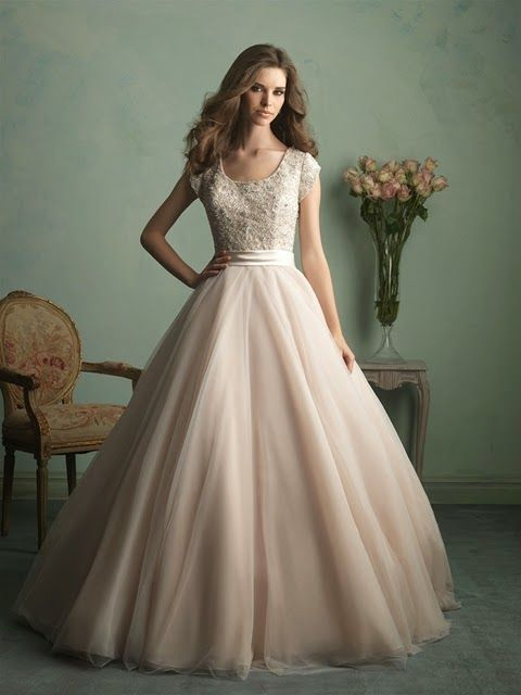 Jessa Duggar wedding dress Allure-- This dress. I am in love. Gorgeous!