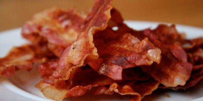 Rezept für knusprige Bacon-Chips