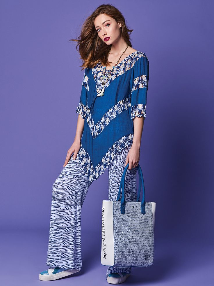 """GREEK SPIRIT Inspired by the sea`s deep blue and Greek island`s white, our new 'Greek Spirit' collection will virtually tour you to the Aegean and Ionian islands. The slogan of the line is """"My Greek Island Home"""" and """"Olive Branch with a Mediterranean Flair"""". Stunning handmade engraved details and prints on bags and wallets embellish our new collection.  www.doca.gr #greekspirit #greek #island #blue #fashion #patterns"""