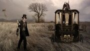 hd bonny and clyde steampunk wallpaper download