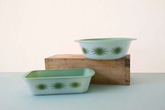 Glasbake Midcentury Casserole and Baking by ThrowbackArtifacts, $24.00