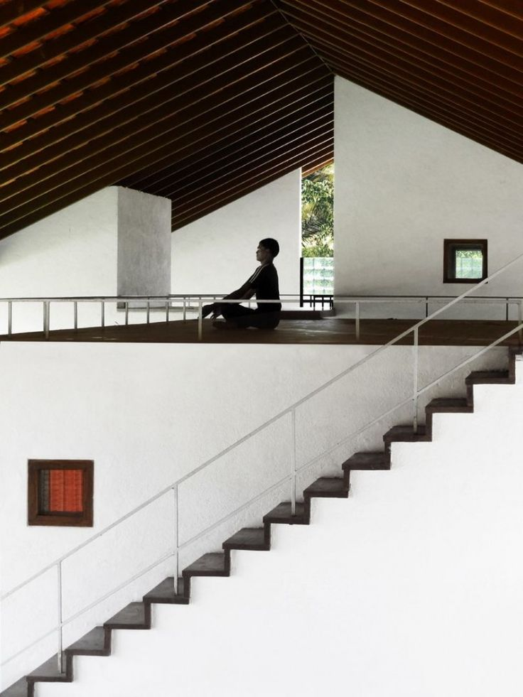 Think Tank Retreat / RMA Architects #architecture #stairs