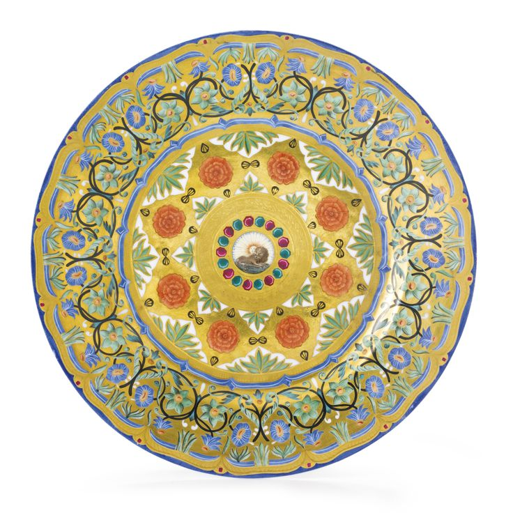A Rare Russian Porcelain Plate from a Service for the Shah of Persia Imperial Porcelain Manufactory St. Petersburg after  sc 1 st  Pinterest & 22 best Russian Imperial Porcelain images on Pinterest | Porcelain ...
