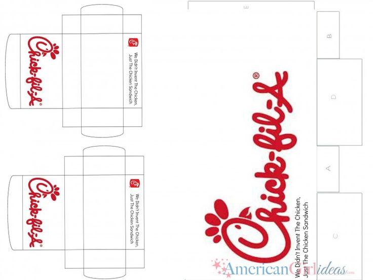American Girl Chick Fil A Printables • American Girl Ideas ...