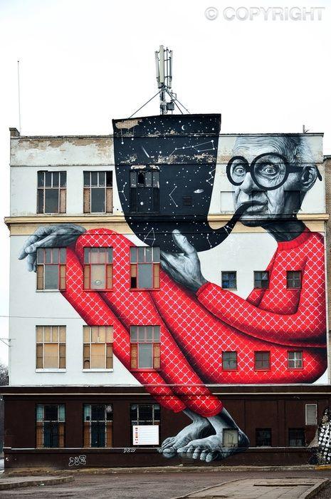 Contemporary Street Art - Kaunas, Lithuania