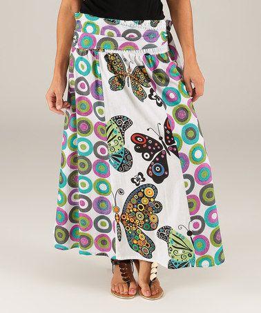 Side Tie Maxi Skirt | Jill Dress