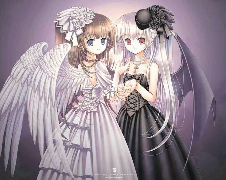 Angel and Demon best friends | Anime :3 | Pinterest ...
