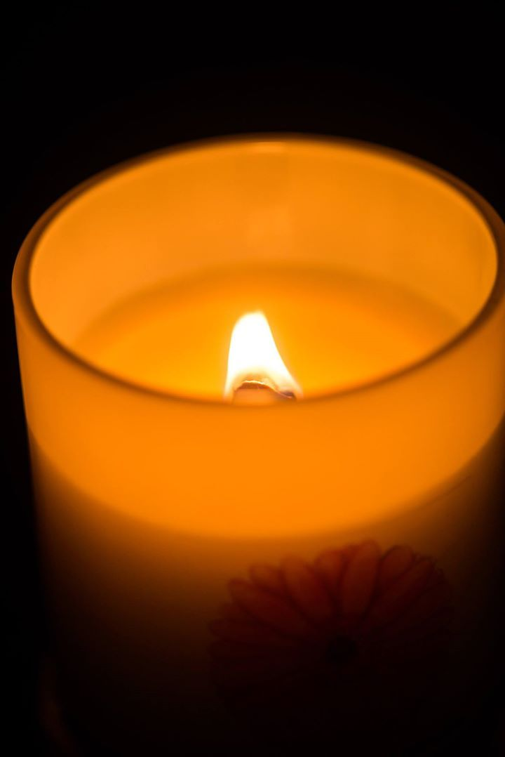 XLarge Wood Wick Red Daisy candle www.facebook.com/reddaisycandles