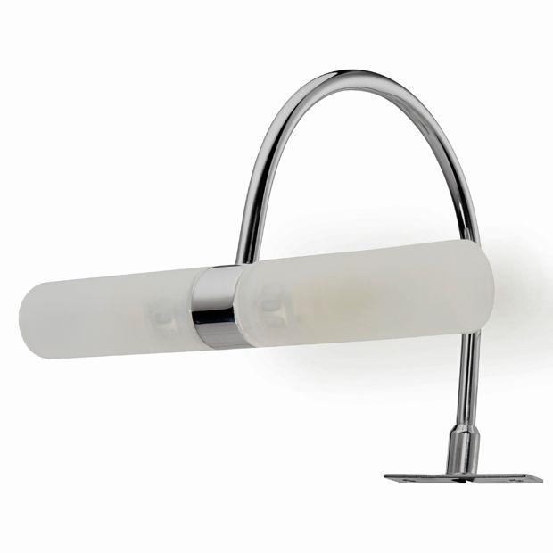 Spot pour miroir de salle de bains d dicace lapeyre for Miroir salle de bain lapeyre