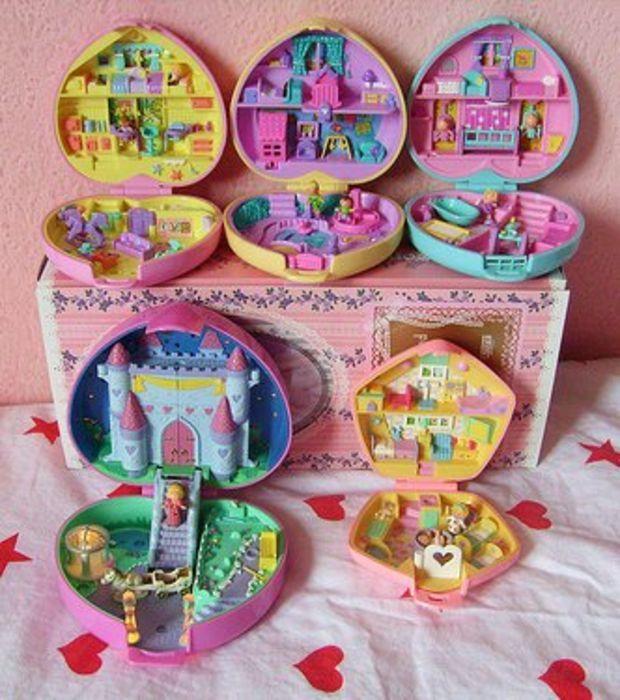 Les chambres des filles en étaient envahi dans les années 1990, il s'agit des Polly Pocket !