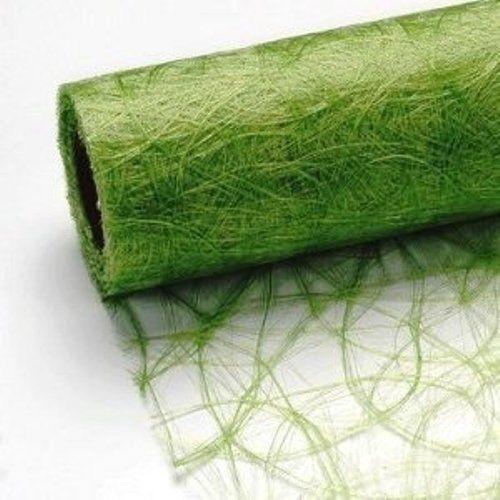 25 m x 30 cm Sizoflor® Vlies Original Tischband Tischläufer grün apfelgrün für Hochzeit, Weihnachten ...