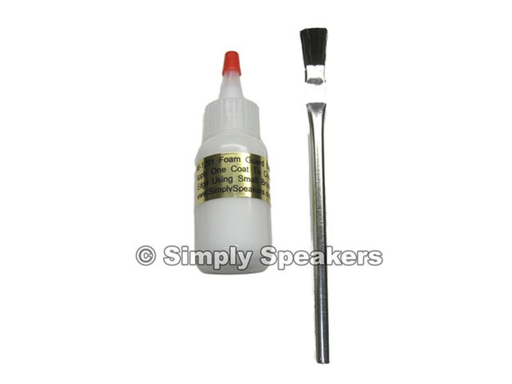 Best Quality White Speaker Glue  Sealer and Adhesive for cone edges # MI-1291FG