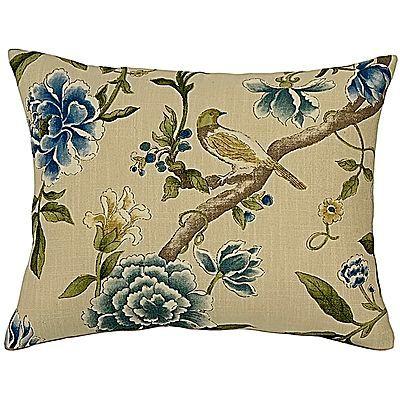 Solaine Cream Rectangular Cushion