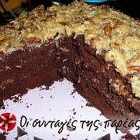 Γερμανικό κέικ σοκολάτας