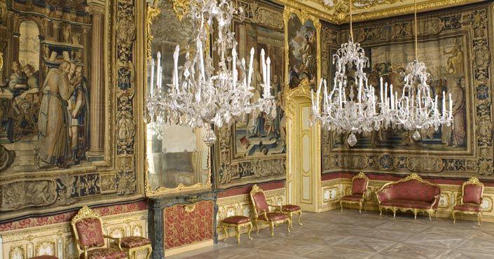 (1753-67) Palazzo Chiablese - La salle des tapisseries