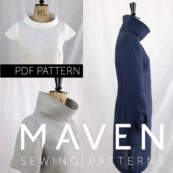 The French Dart Shift is a PDF sewing pattern by Maven Patterns. This pattern is available to print at home by instant download, immediately after completing checkout.  SKILL LEVEL: INTERMEDIATE  The French Dart Shift Tunic is about to become the hero of your wardrobe! Designed as a tunic to be worn over jeans or leggings and so easy and versatile to wear, you will be reaching for her everyday. DESIGN FEATURES: *SEE PHOTOS FOR SIZE CHART & FABRIC REQUIREMENTS *Centre back length: 90cm *3 ...