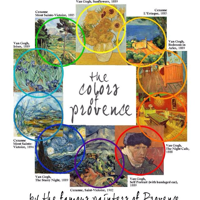 MSp The Colors of Provence by the Famous Painters of