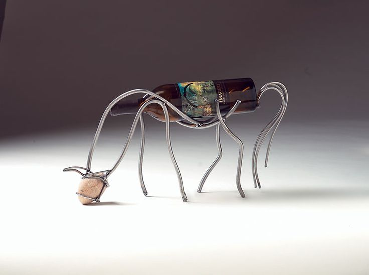Portabottiglie di vino da tavolo dal design moderno n.12