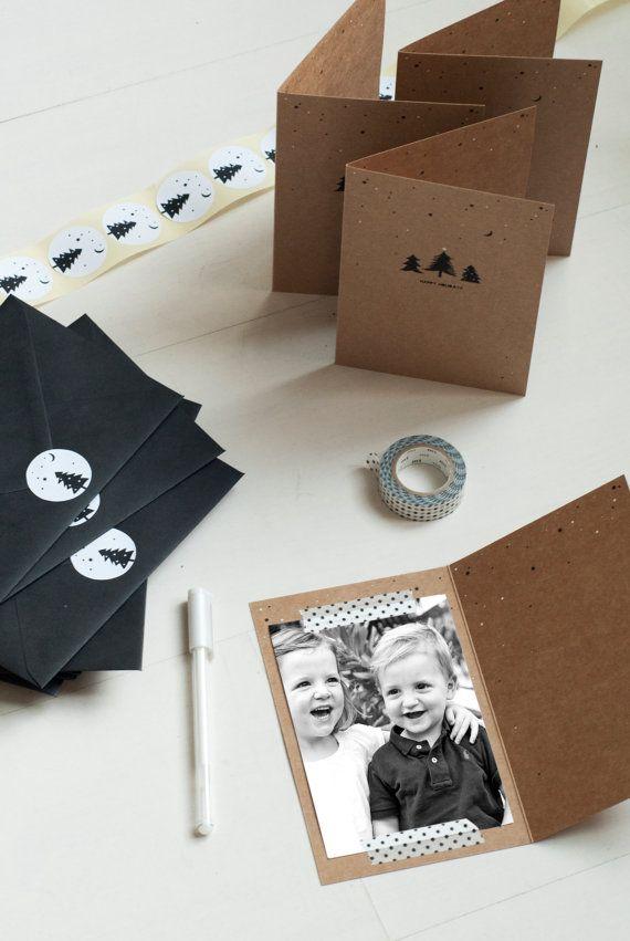 Toolkit for cards. - Christmas Cards with extra's in a set of 20!  Kerstkaarten set 20 stuks en meer door Donydesign, €32.50