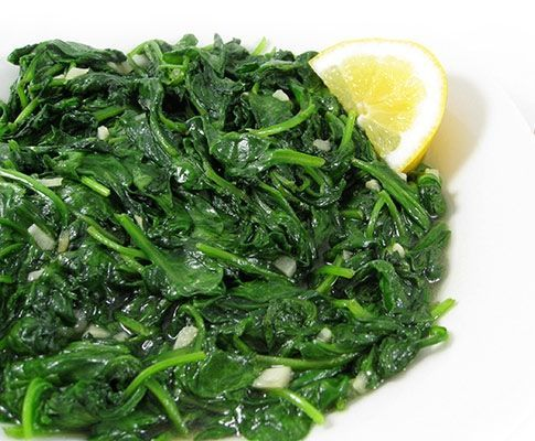 This easy and delicious sautéed garlic spinach recipe is good for you, too. Find out just how easy it is and why you need to try it!