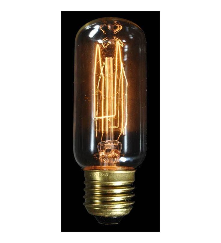 Ozdobna żarówka 33W Tube z dekoracyjnym żarnikiem