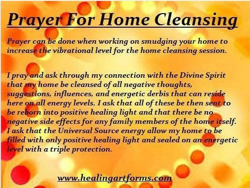 Cleansing Prayer For Yourself Google Search