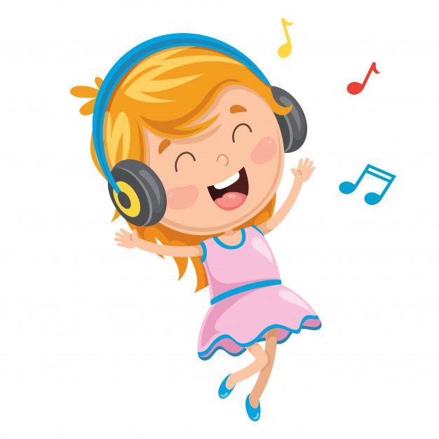 Ilustracion De Vector De Nino Escuchando Musica Vector Premium Free Vector Freepik Vector Freemusi Nino Escuchando Musica Ilustracion Musical Illustration