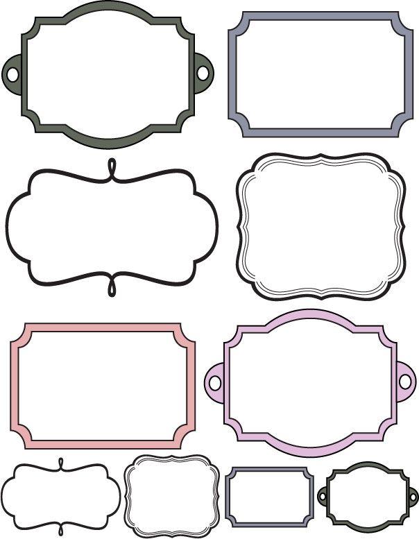 free printable frames
